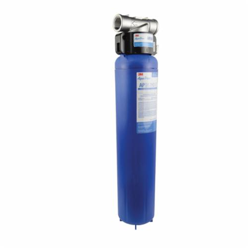 3M™ Aqua-Pure™ 016145-26699 Whole House Water Filtration System, 20 gpm, 4-1/2 in Dia Dia x 25-1/16 in H, 40 to 100 deg F, Domestic
