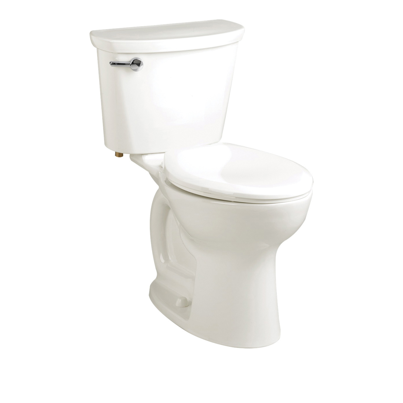 American Standard 215FC104.020 Cadet® Pro™ Right Height™ 2-Piece Toilet, Elongated Bowl, 16-1/2 in H Rim, 1.28 gpf, White, Import