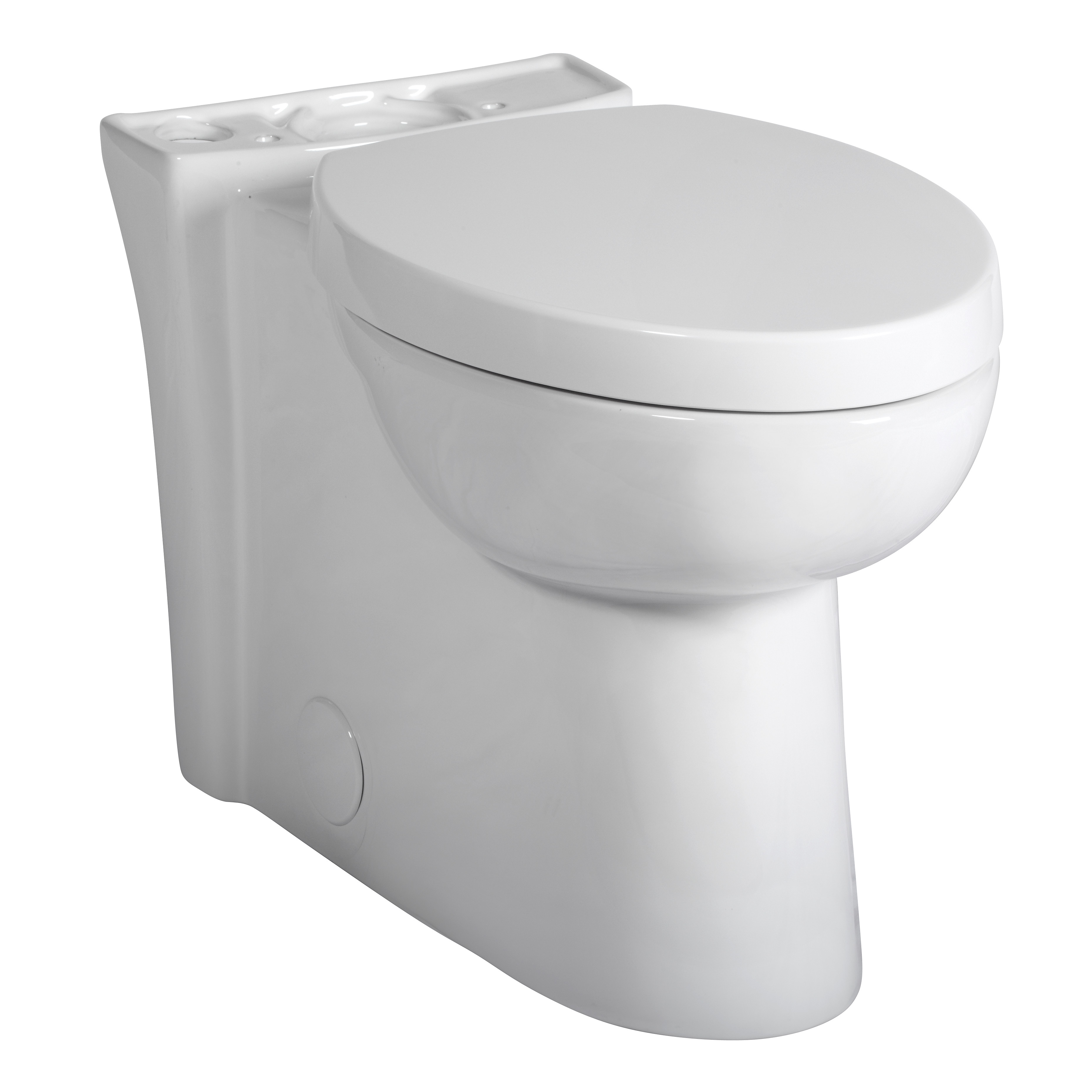 American Standard 3075.120.020 Toilet Bowl, White, Elongated, 12 in Rough-In, 16-1/2 in H Rim, 2-1/8 in Trapway, Studio™ Activate™ Right Height™