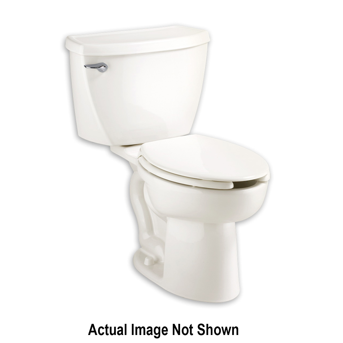 American Standard 3483.001.020 Toilet Bowl, White, Elongated, 12 in Rough-In, 16-1/2 in H Rim, 2-1/8 in Trapway, Cadet® FloWise® Right Height™