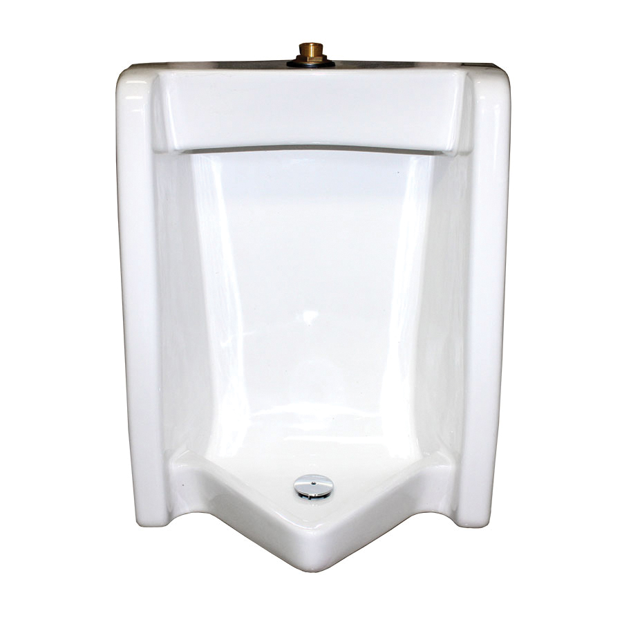 American Standard 6590.001.020 Washbrook™ FloWise® Universal Urinal, 0.125/1 gpf, Top Spud, Wall Mount, White, Import