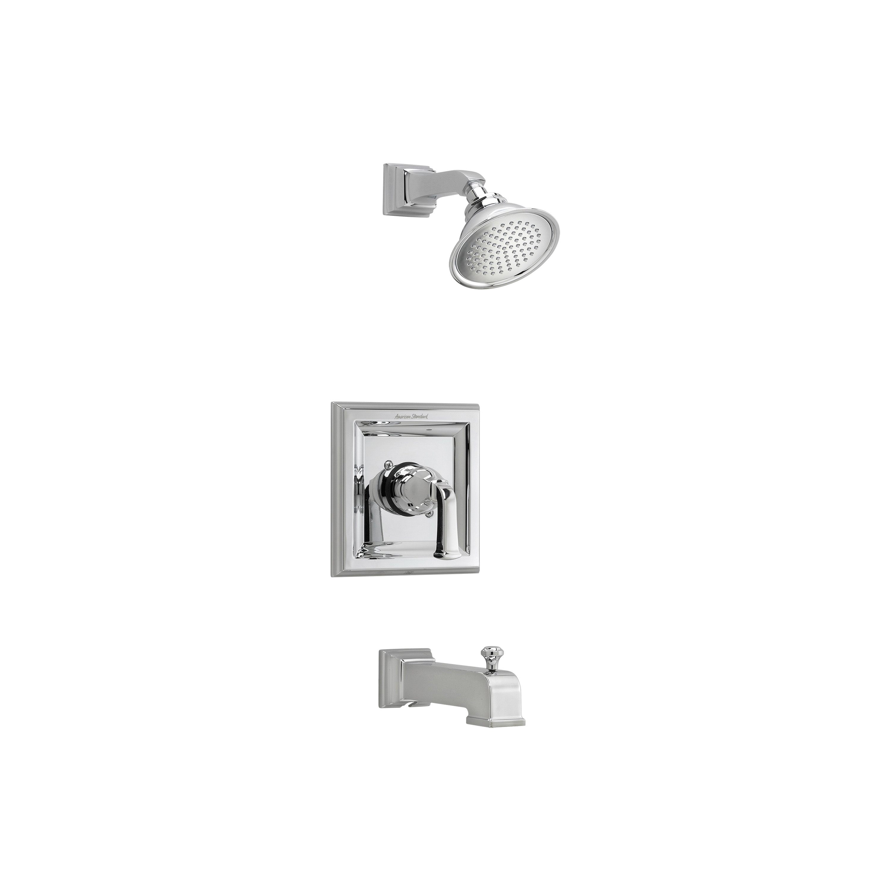 American Standard T555522.002 Town Square® Bath/Shower Trim Kit, 2.5 gpm Shower, Hand Shower Yes/No: No, Polished Chrome