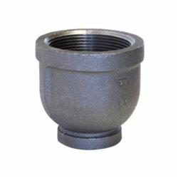 SPF/Anvil™ 0811085208 FIG 3121R Reducing Pipe Coupling, 3/8 x 1/8 in, FNPT, 150 lb, Malleable Iron, Galvanized, Import