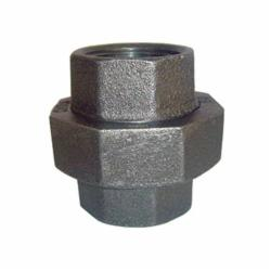 SPF/Anvil™ 0813508207 FIG 3463 Ground Joint Pipe Union, 3/4 in, FNPT, 150 lb, Malleable Iron, Galvanized, Import