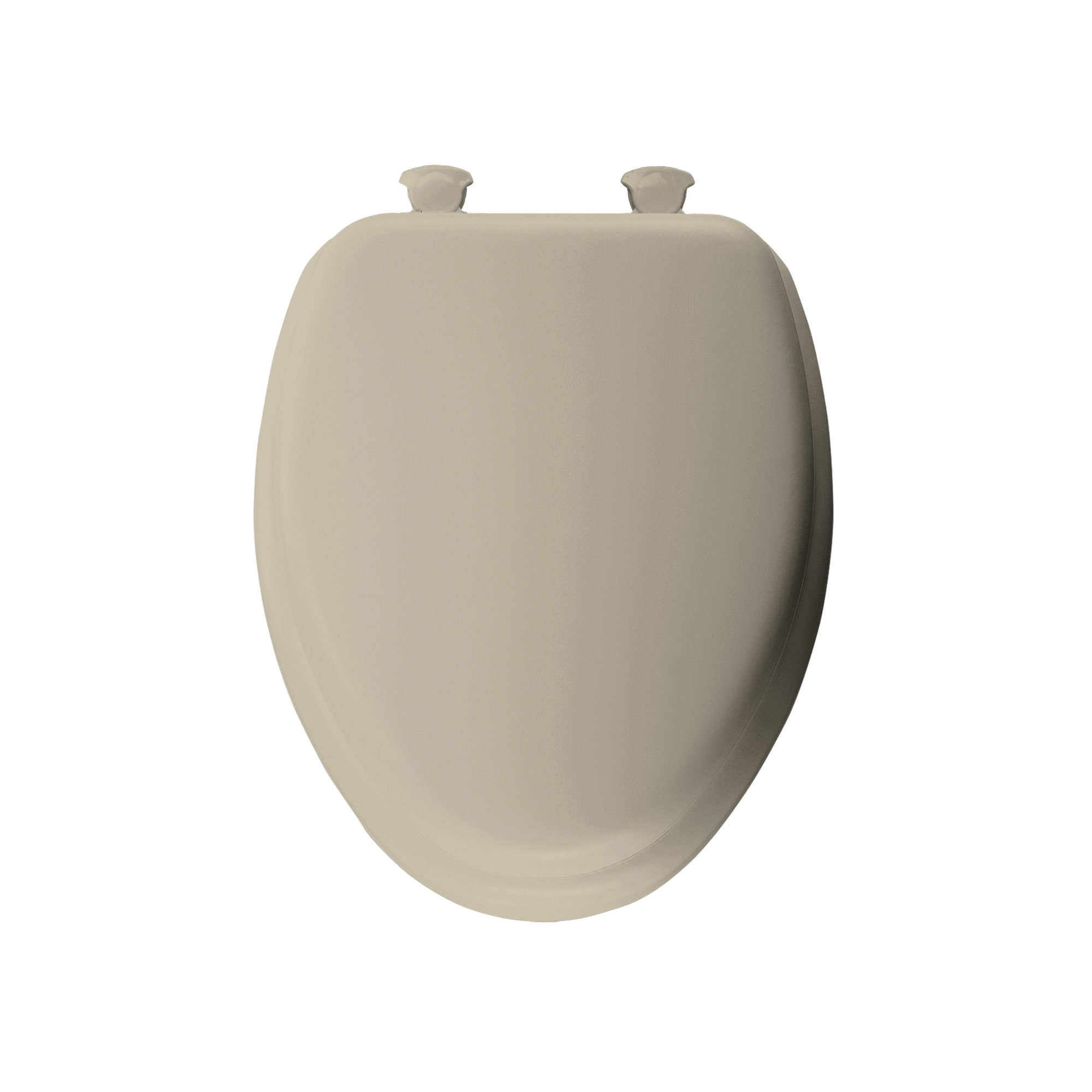 Mayfair® 113EC 006 Toilet Seat, Elongated Bowl, Closed Front, Wood, Bone, Domestic