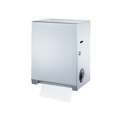 Bobrick B-2860 Roll Paper Towel Dispenser, Surface Mount, 304 Stainless Steel, Domestic