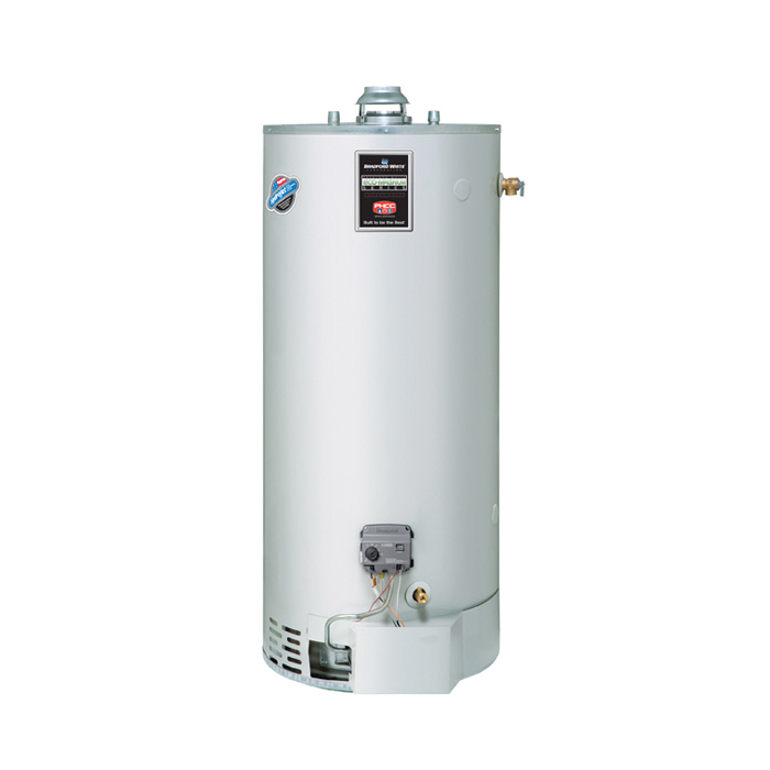 Bradford White® ULG275H763N Gas Water Heater, 75 gal Tank, 76000 Btu/hr Heating, Natural Gas Fuel, Atmospheric Vent, Piezo Ignition, Ultra Low NOx: Yes, ASME Yes/No: No, Domestic