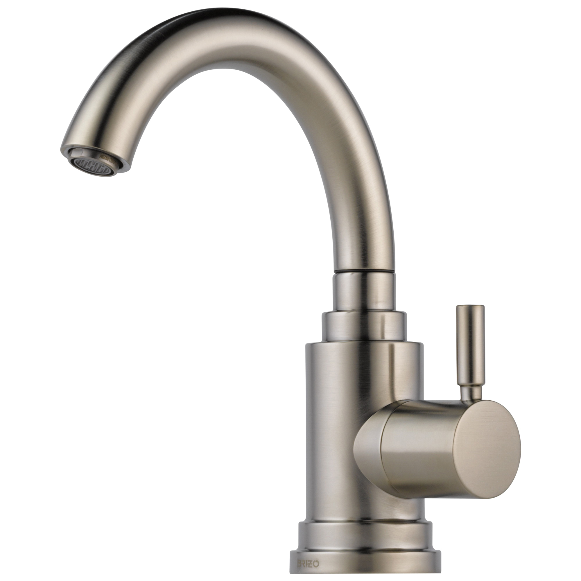Brizo® 61320LF-SS Euro Beverage Faucet, 1.5 gpm, Stainless Steel, 1 Handles, Domestic