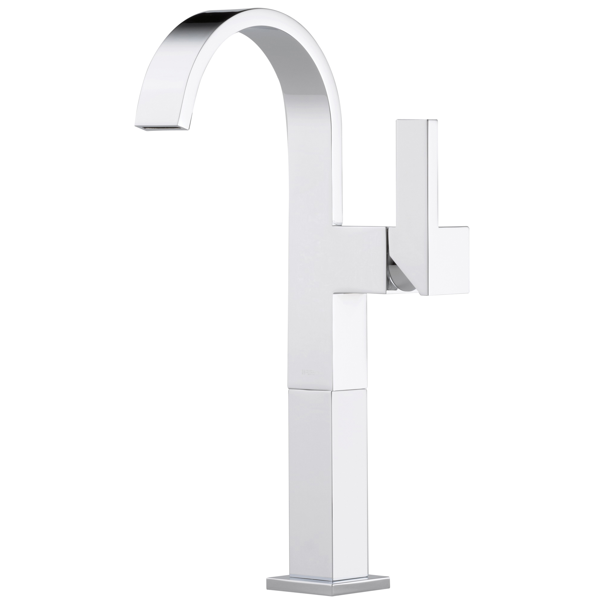 Brizo® 65480LF-PC Siderna® Vessel Lavatory Faucet, 1.5 gpm, 9-5/8 in H Spout, Polished Chrome, 1 Handles, Import, Commercial