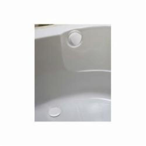 Geberit 150.156.DY.1 Bath Waste and Overflow Drain, Polypropylene, White
