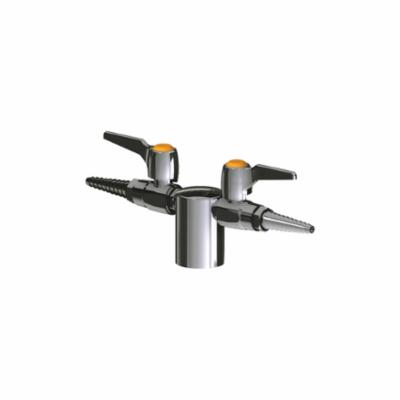 Chicago Faucet® 981-909CAGCP Turret Faucet, Chrome Plated, Domestic