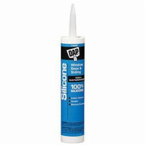 DAP® 08641 Sealant, 10.1 fl-oz Tube, Paste, Clear, 0.96 at 25 deg C