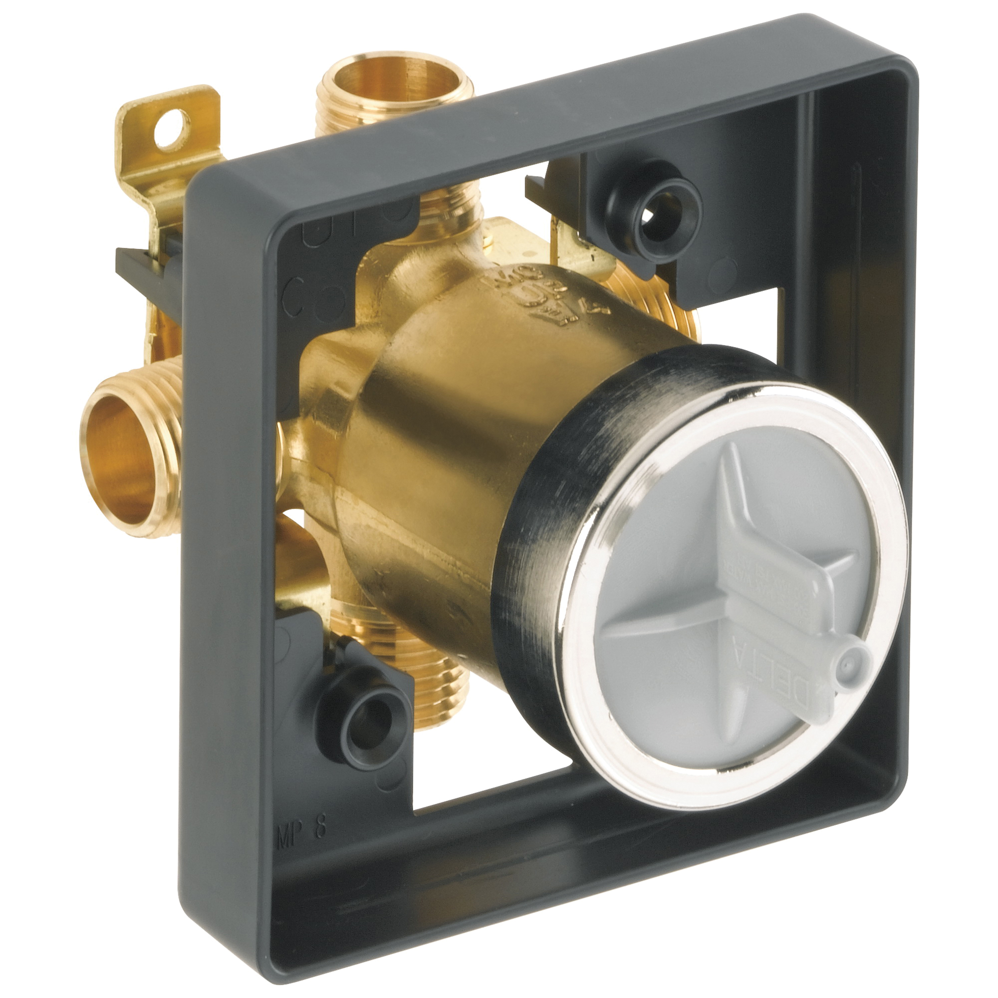 DELTA® R10000-UNBX Universal Tub and Shower Rough-In Valve Body, Forged Brass Body, Domestic