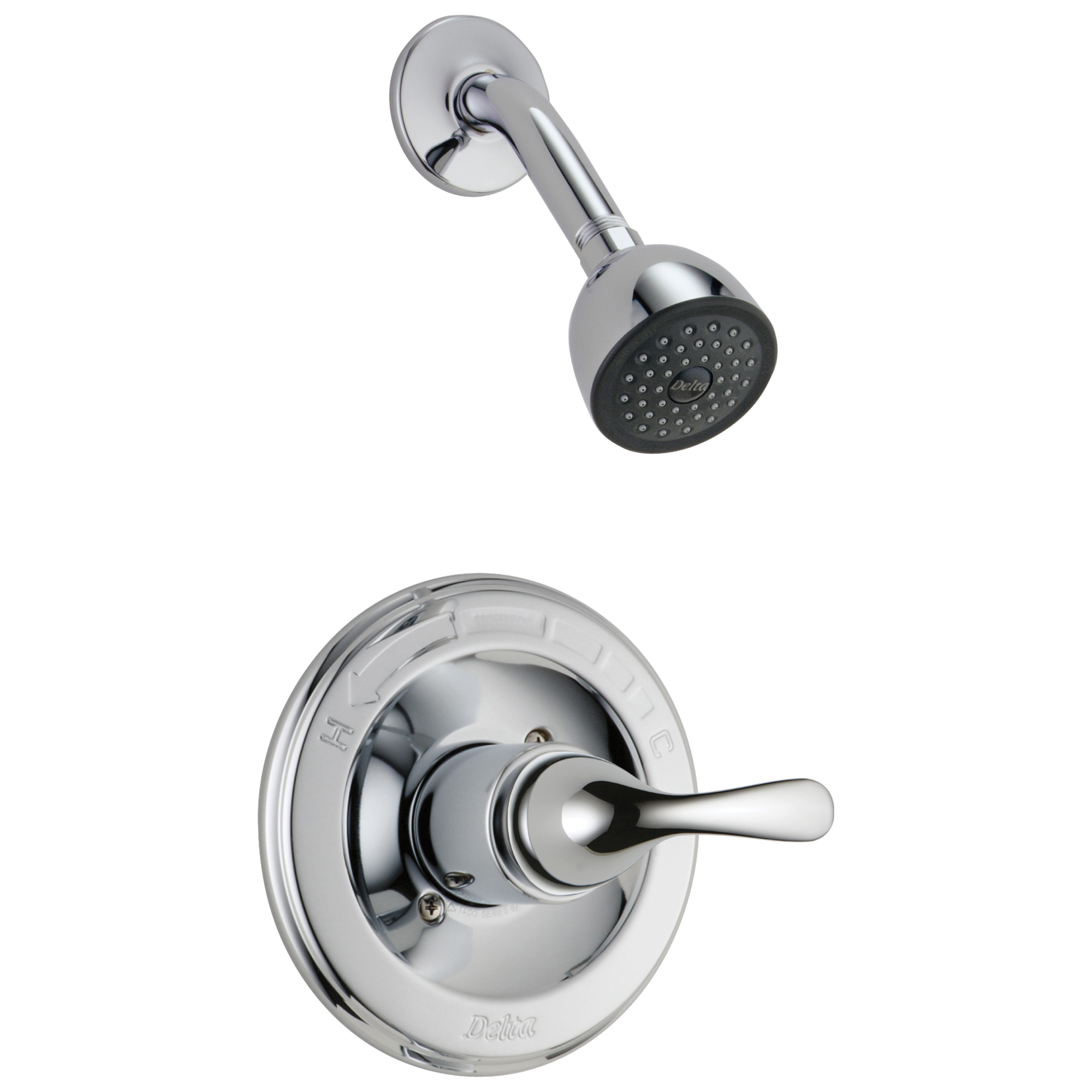 DELTA® T13220 Monitor® 13 Shower Trim, 1.75 gpm Shower, Hand Shower Yes/No: No, Chrome Plated