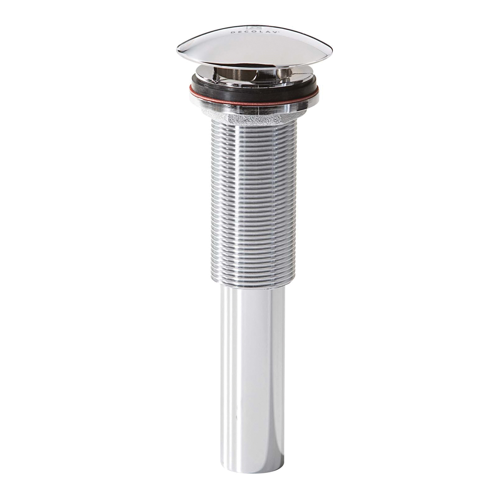 DECOLAV® 9290-CP Non-Closing Grid Decorative Umbrella Top Drain, Polished Chrome, Overflow Yes/No: No, Solid Brass Drain, Includes Lift Rod: No