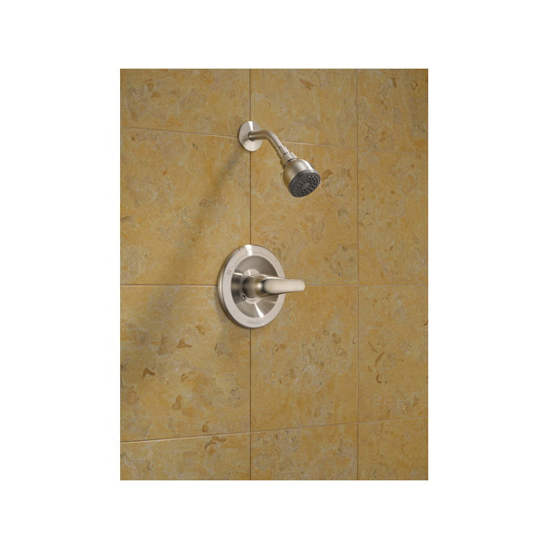 Peerless® P18760-BN Complete Shower Only, 2 gpm Shower, Hand Shower Yes/No: No, Brushed Nickel