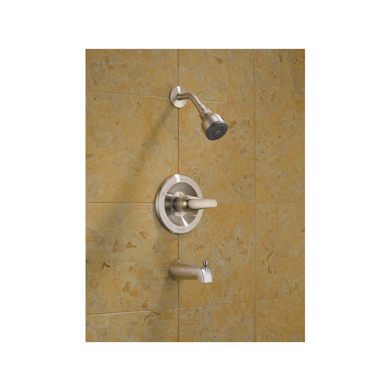 Peerless® P18770-BN Tub and Shower, 1.75 gpm Shower, Hand Shower Yes/No: No, Brushed Nickel