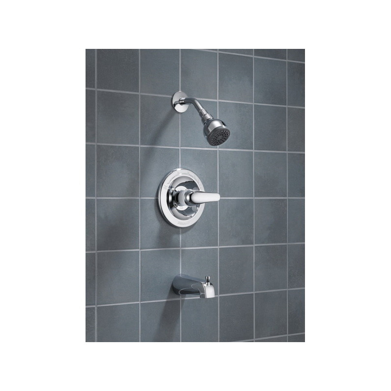 Peerless® P188720 Tub and Shower, 1.75 gpm Shower, Hand Shower Yes/No: No, Chrome Plated