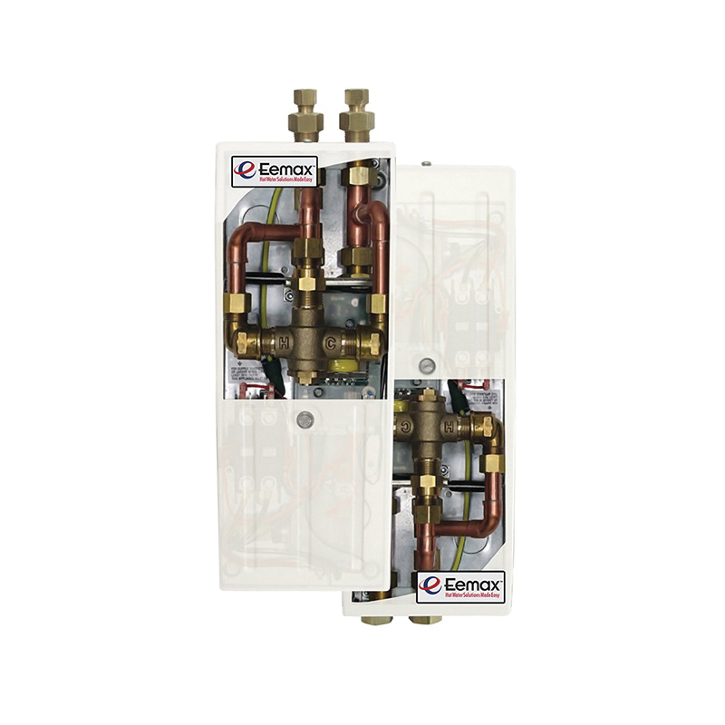 Eemax™ MT008277T Accumix™ Electric Tankless Water Heater With (2) Aerator, 277 VAC, 8000 W, 1 ph, 3/8 in Compression Water, 29 A, Commercial/Residential/Dual: Commercial