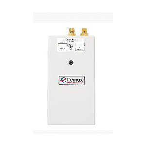 Eemax™ SP2412 One™ Single Point Electric Tankless Water Heater With (1) Aerator, 120 VAC, 2400 W, 1 ph, 3/8 in Compression Water, 20 A, Commercial/Residential/Dual: Commercial