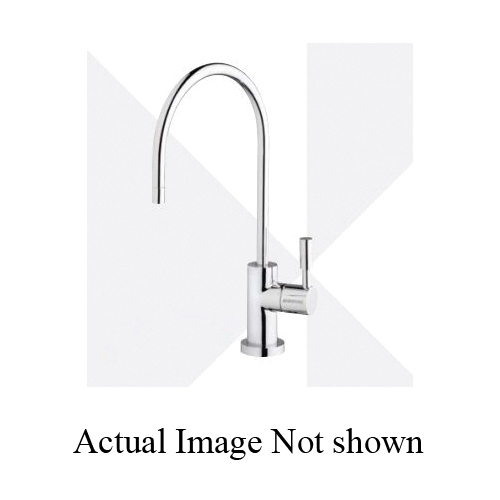 EVERPURE® EV997059 Designer Single Temperature Lead Free Drinking Water Faucet, 0.5 gpm, Brushed Nickel