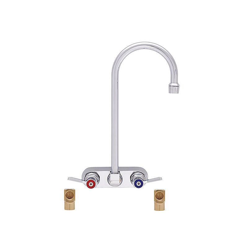 Fisher 19615 Bar Faucet, 2.2 gpm, 4 in Center, Domestic, Commercial