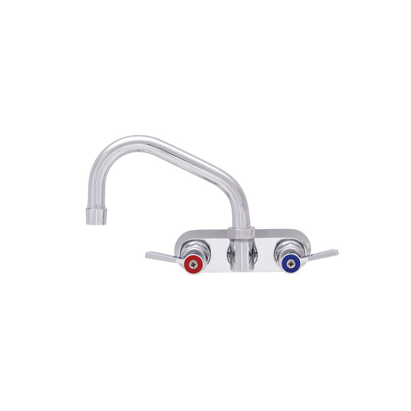 Fisher 62448 Kitchen Sink Faucet, 2.2 gpm, 4 in center, Domestic, Commercial