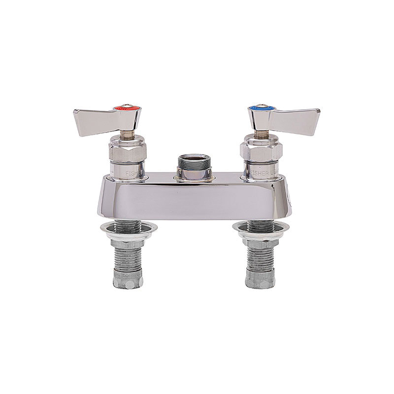 Fisher 67423 Control Valve, 1/2 in, Stainless Steel, Lever Handle, Commercial