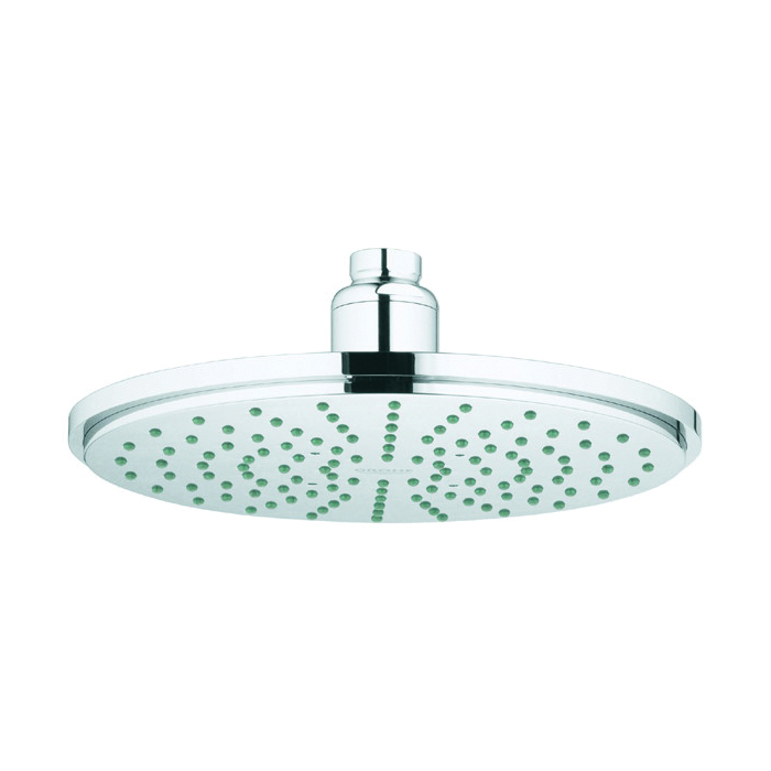 GROHE 28.373000 Cosmopolitan 210 Rainshower Head With Ball Joint, 2.5 gpm Maximum, 1 Spray, Import
