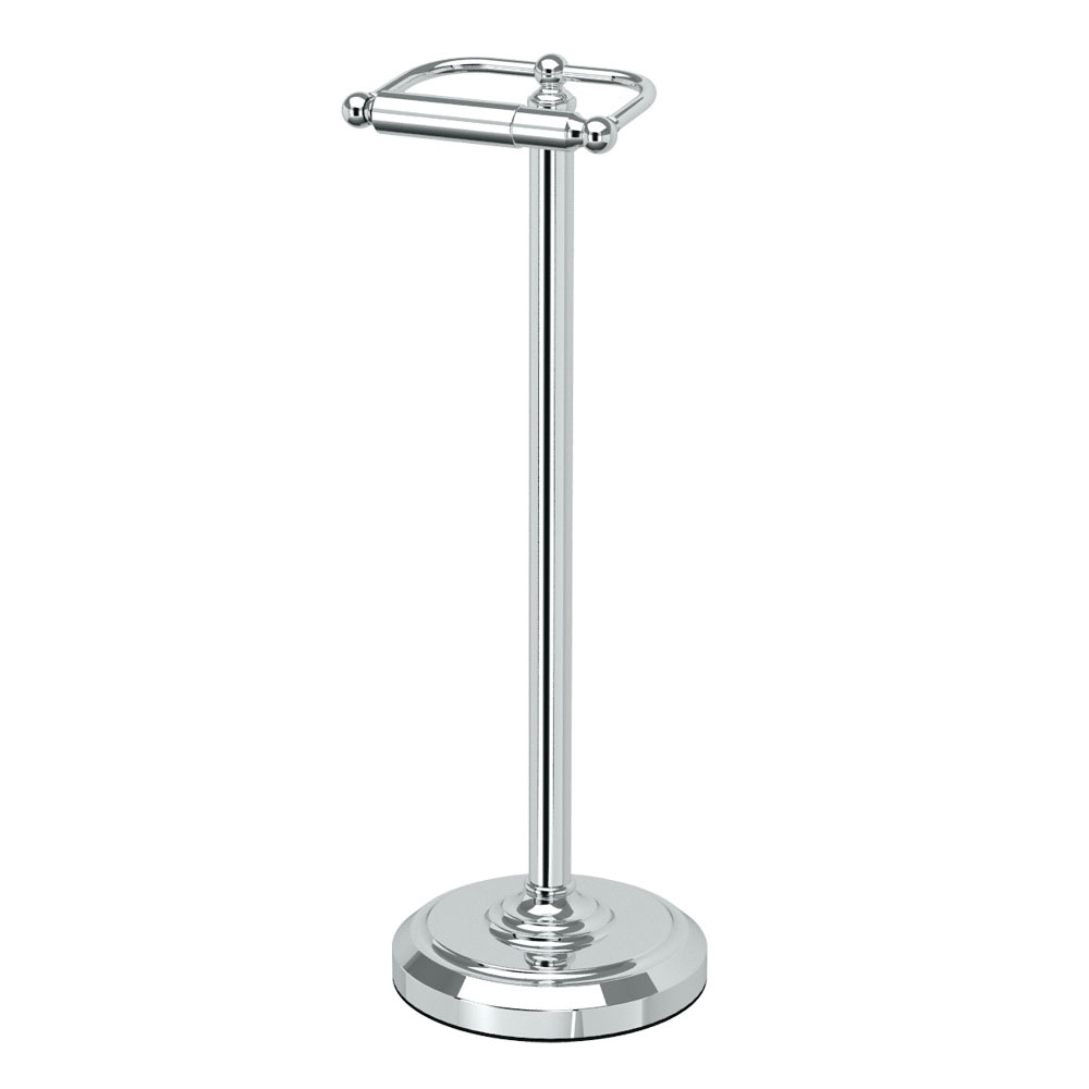 Gatco® 1436C Tissue Holder Stand, 22 in H, Chrome Plated, Domestic