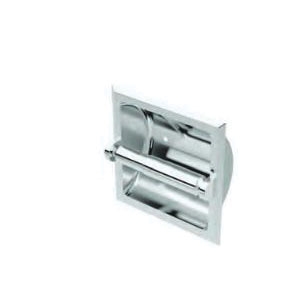 Gatco® 782 Recessed Tissue Holder, 6-1/4 in H, Chrome Plated, Domestic