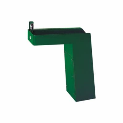 Haws® 3202 Barrier Free Pedestal Drinking Fountain, 0.45 gpm, Pushbutton Operation, Non-Refrigerated Chilling, Green