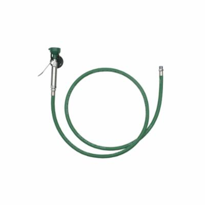 Haws® 8901B Emergency Body Spray, 8 ft L Hose, Squeeze Valve, 6.25 gpm, Rubber Hose, Specifications Met: ANSI Specified, CSAus Certified