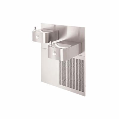 Haws® H1119.8 Barrier Free Drinking Fountain, 0.45 gpm, Pushbutton Operation, Refrigerated Chilling