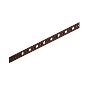 Holdrite® 101-18 Flat Bracket, 5/8 in Hole, 25 lb, Cold Rolled Steel, Copper-Bonded™, Domestic