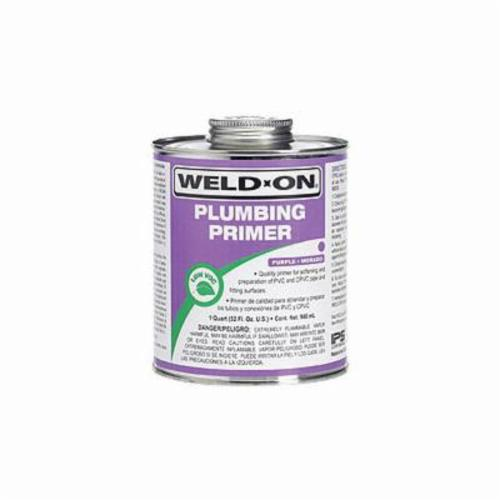 Weld-On® 14024 Plumbing Primer With Screw-On Cap, 1 gal Can, Purple