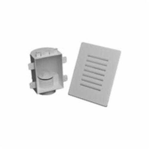 STUDOR® 20380 AAV Recess Box With Snap-On Grille, 5-7/8 in W x 7-1/8 in H, Domestic