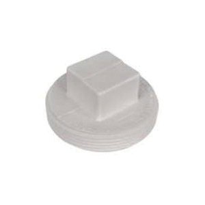 AB&A™ 68752 Square Head Cleanout Plug, ABS, Domestic