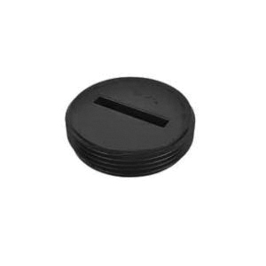 AB&A™ 68509 Countersunk Cleanout Plug, ABS, Domestic