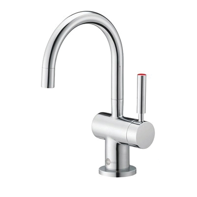 Insinkerator® Indulge™ 44240C FH3300 Modern™ Instant Hot Water Dispenser Faucet, 1 Handle, Chrome Plated, Residential