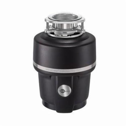 Insinkerator® 77218 Evolution PRO 750® Batch Feed Food Waste Disposer, 1-1/2 in Drain, 3/4 hp, 120 VAC, 1725 rpm Grinding, 34.6 oz Grinding Chamber, Domestic