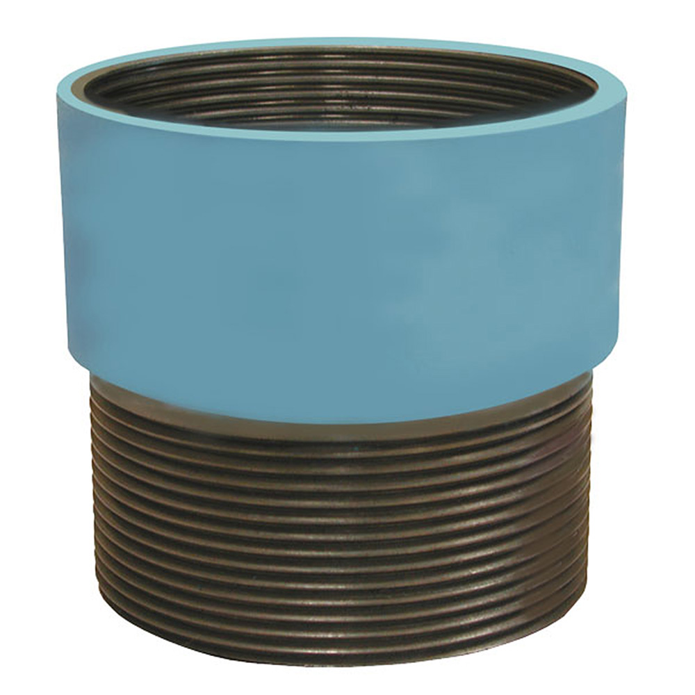 Jones Stephens™ D60979 Spud Extension, For Use With 3-1/2 in Drain/Cleanout Spud, 3-1/2 in IPS, Brass