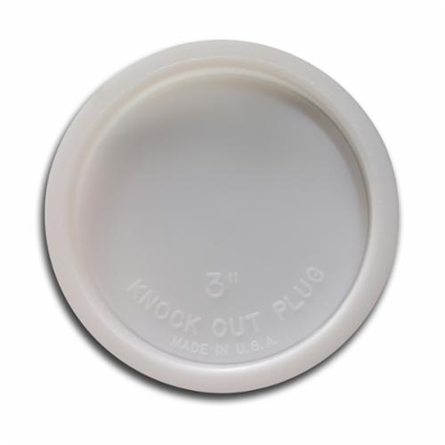 Jones Stephens™ PlumBest™ LTConnections™ T33002 Knockout Test Cap, 2-7/8 in ID x 2-3/8 in OD Dia, PVC, Domestic