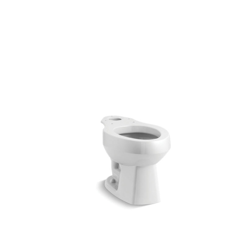 Sterling® 403215-0 Toilet Bowl, Glossy White, Elongated, 12 in Rough-In, Windham™