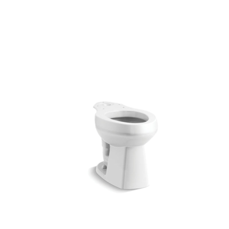 Sterling® 403315-0 Toilet Bowl, Glossy White, Elongated, 12 in Rough-In, Windham™