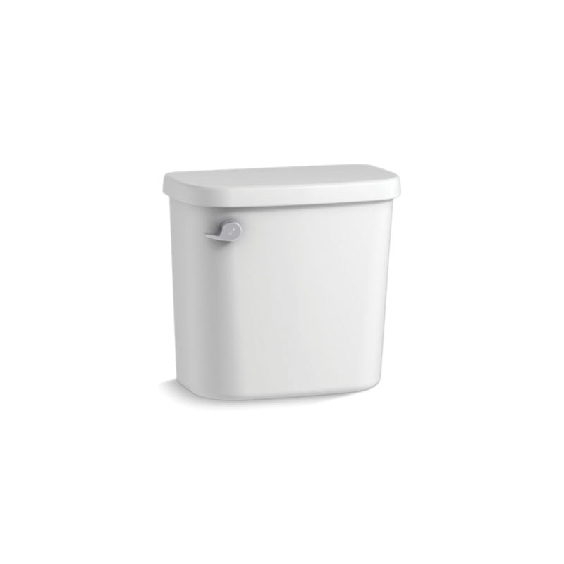 Sterling® 404551-0 Toilet Tank, Windham™, 1.28 gpf, Left Hand Lever Flush Handle, 3 in Flush, White