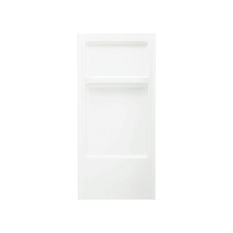 Sterling® 62012100-0 Advantage™ Shower Back Wall, 32 in W x 66-1/4 in H, Solid Vikrell®