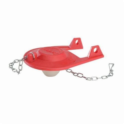 Korky® 16BP Plus™ Universal Toilet Flapper, Rubber, Red, Domestic