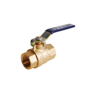 LEGEND 101-417NL T-2000NL Ball Valve, 1-1/2 in Nominal, FNPT End Style, Forged Brass Body, Full Port, PTFE/EPDM Rubber Softgoods, Import