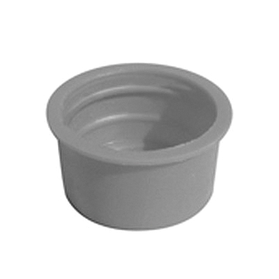 Specialty Products™ P-0018 Slip-On Test Cap, For Use With ABS or PVC SCH 40 DWV Pipe and Fitting, Plastic, Orange, Domestic
